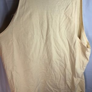 Russell Athletic Shirts - Yuengling Lager yellow tank top size unknown